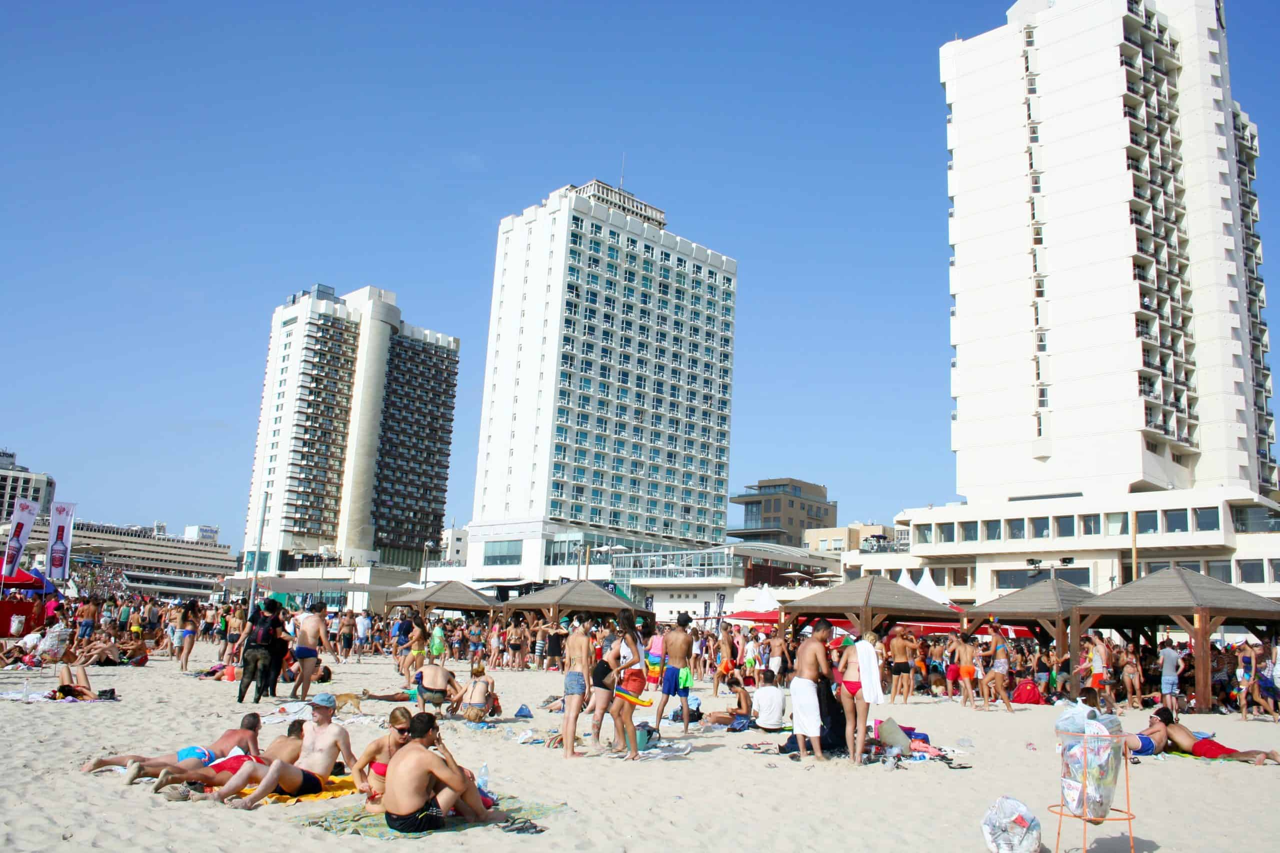 The Beach of Tel Aviv, Israel - one of the best places to visit in Israel