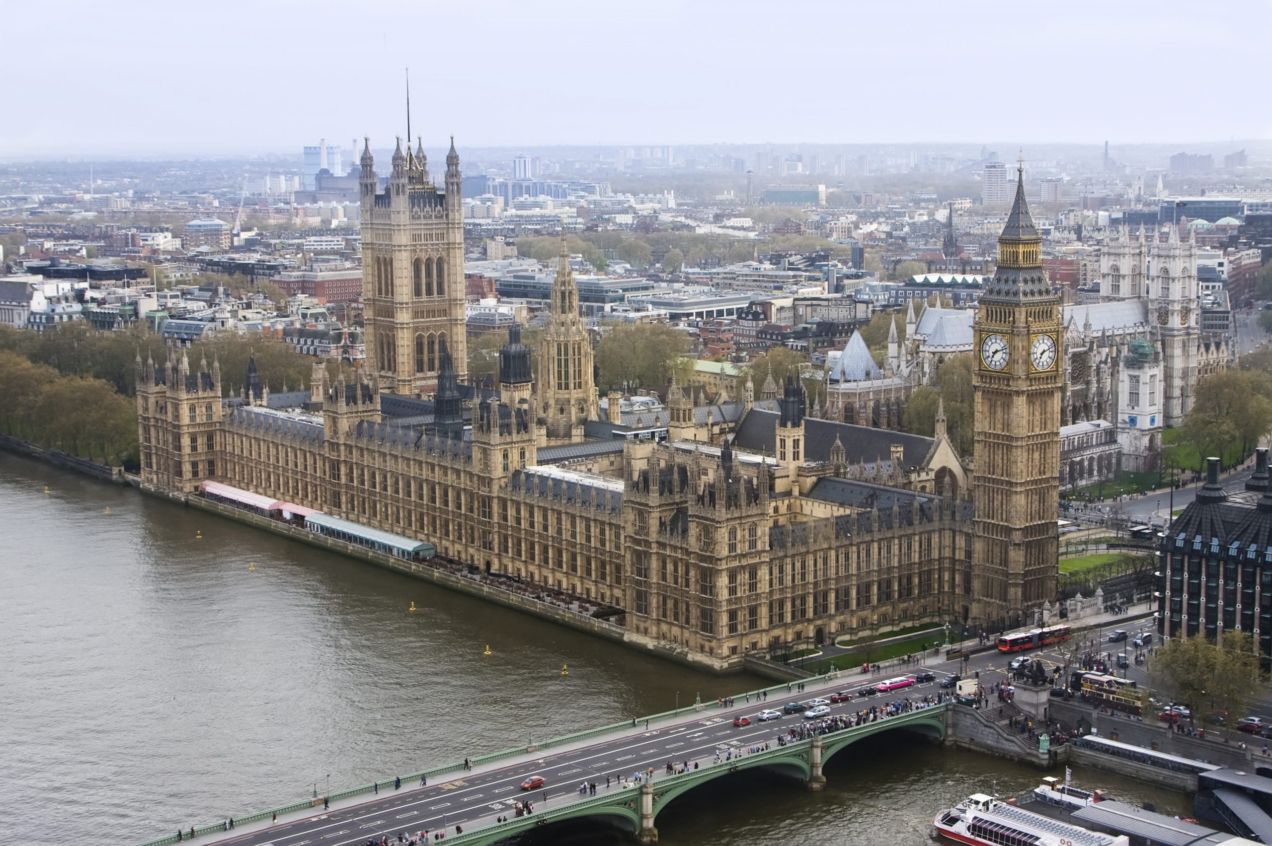 The Big Ben and the Houses of Parliament - top things to do in london