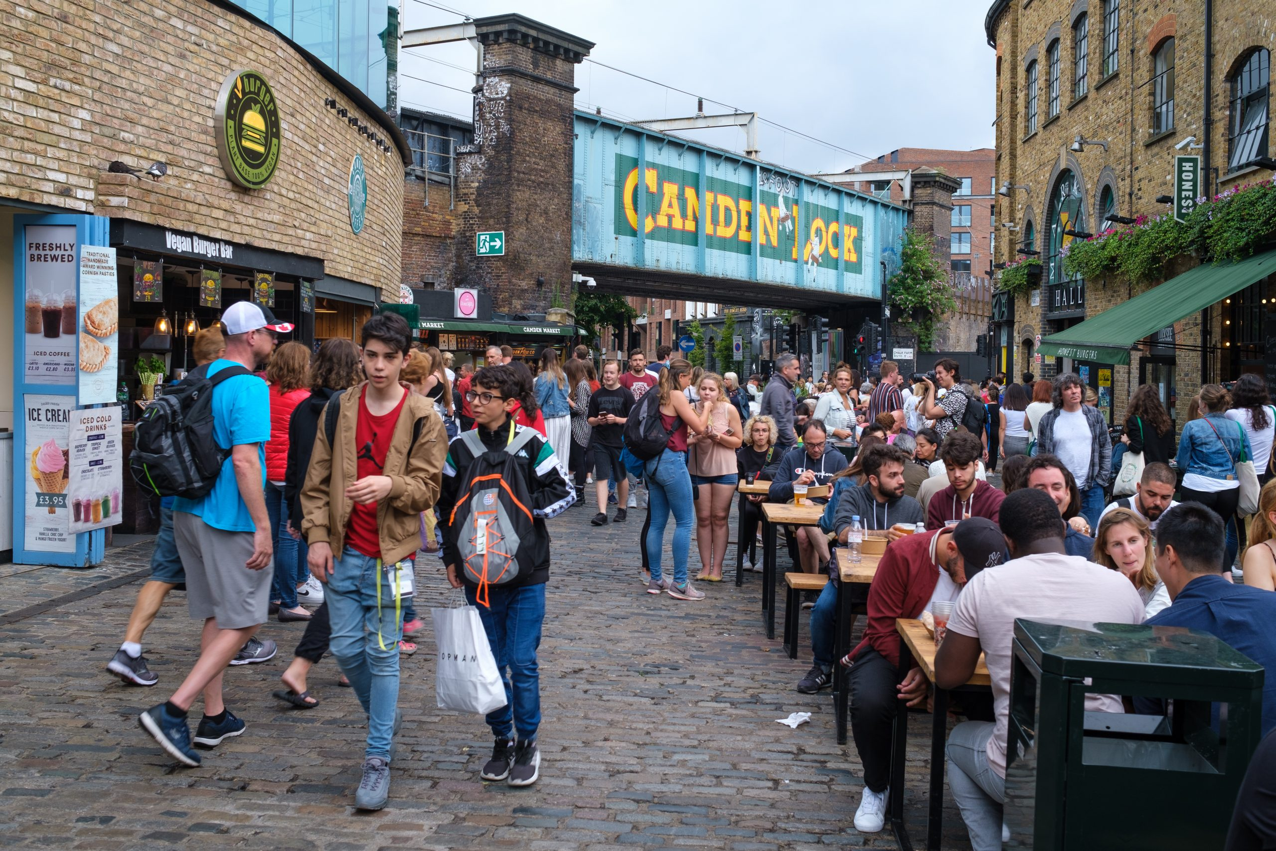 the streets of Camden Town - london where to visit