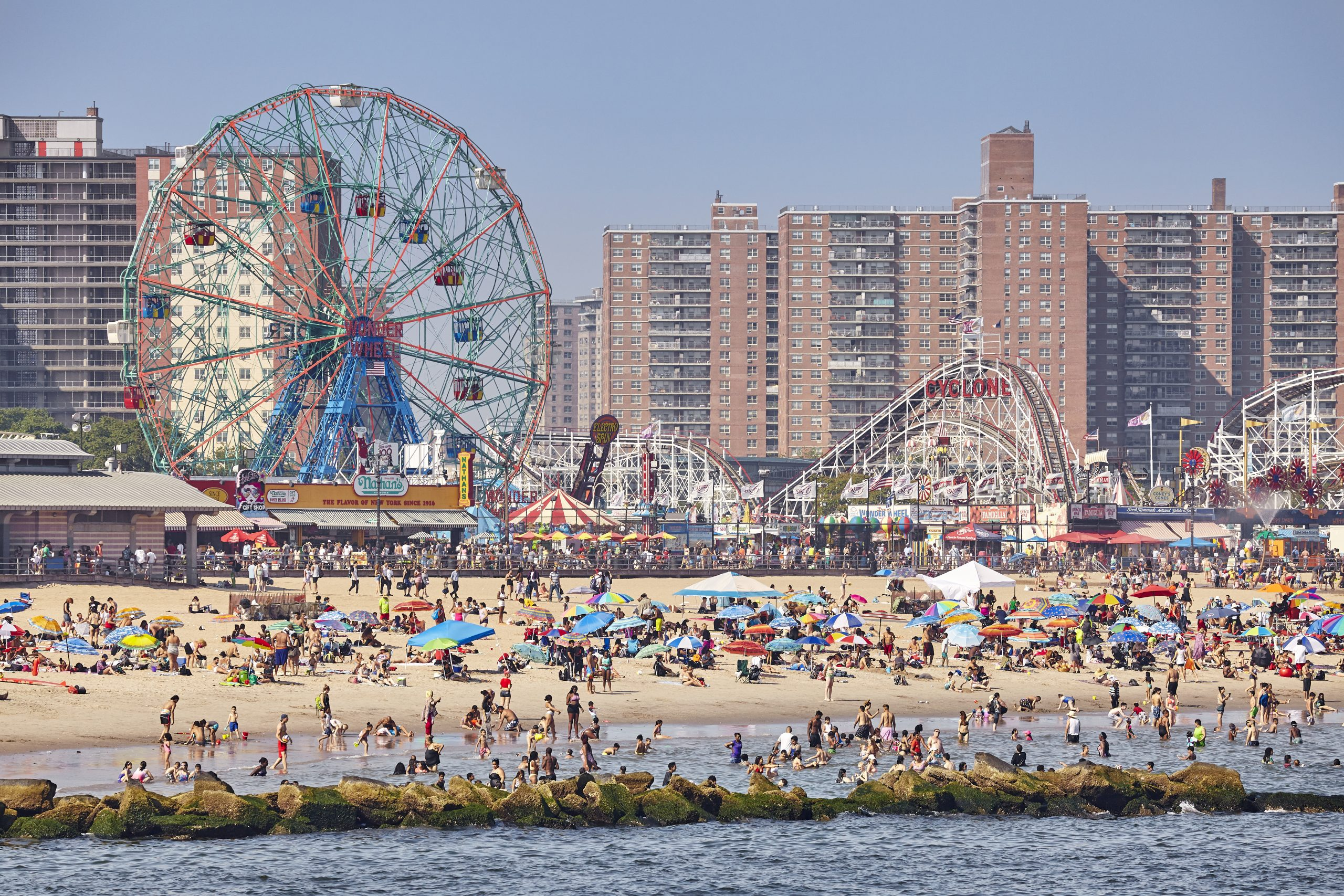 Coney Island beach and Luna Park. things to do brooklyn ny. what to do brooklyn? places to visit in brooklyn