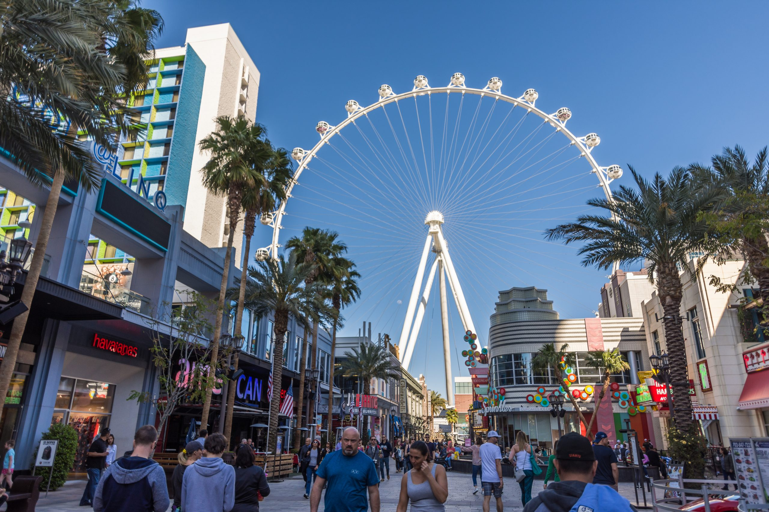 The Ferris Wheel at the LINQ