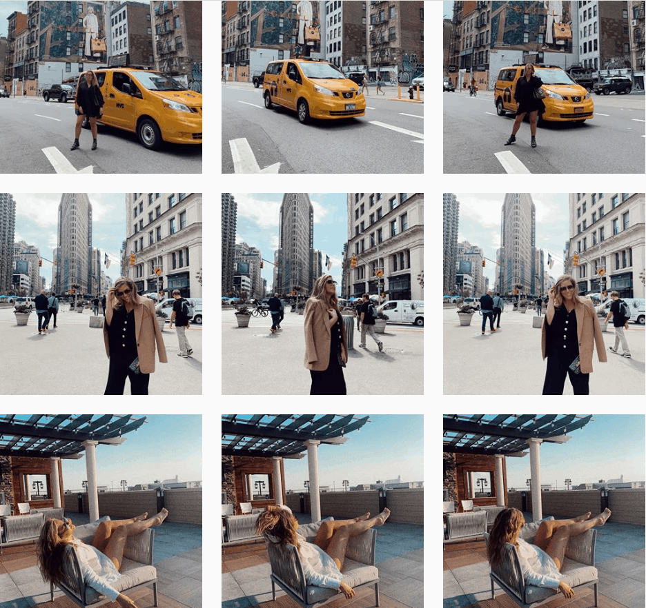 Danielle in the streets of New York City