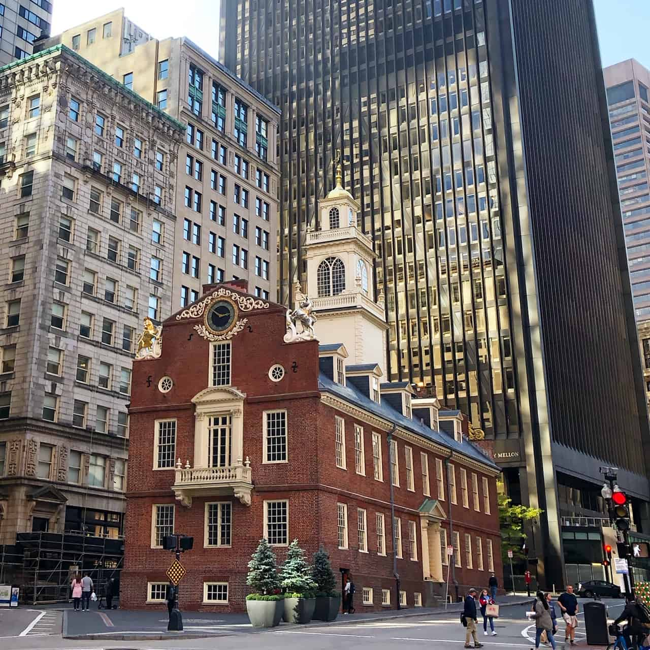 Many sites are closed on new england road trip covid. The Old State House in Boston