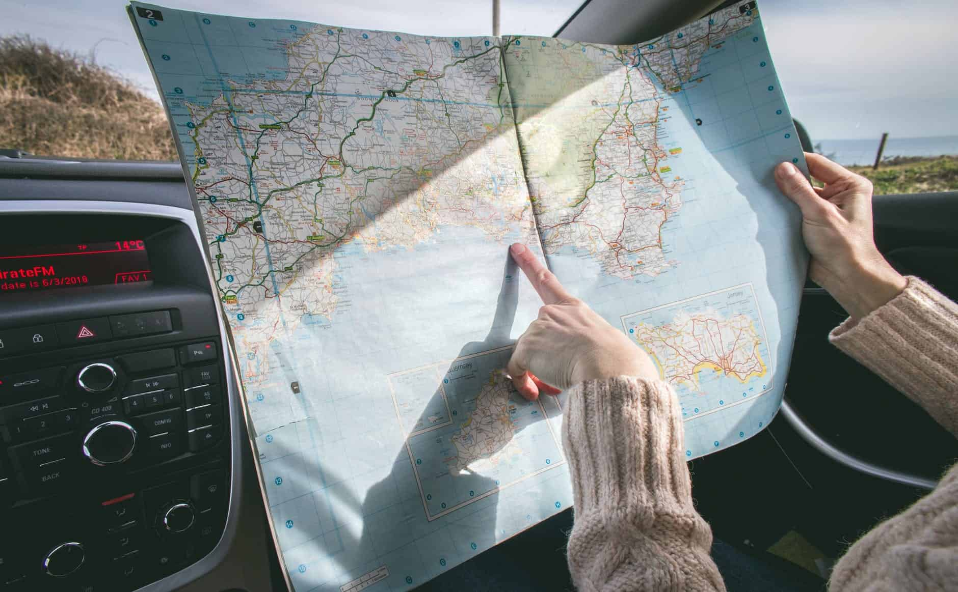 Finding the anchor destination is important planning for a road trip. best road trip planner.