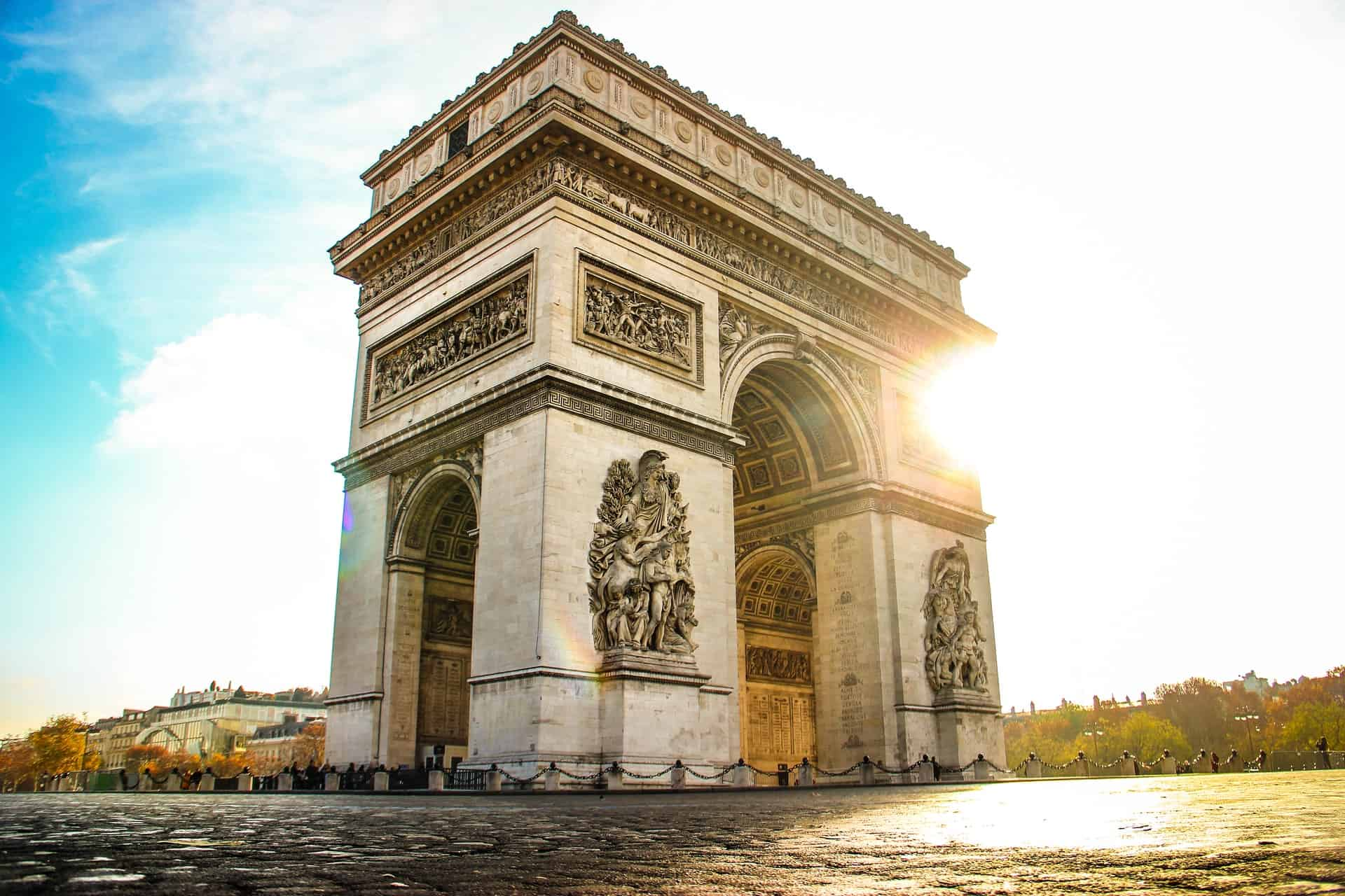Arc de Triomphe is one of the best paris sights to see