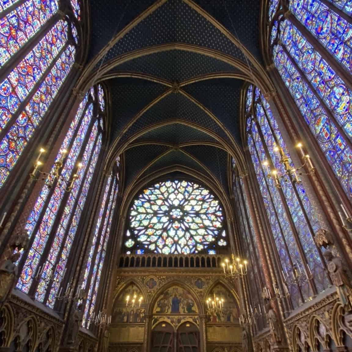Sainte-Chapelle is not to miss when you think about what to do in paris and one of the best paris tour attractions