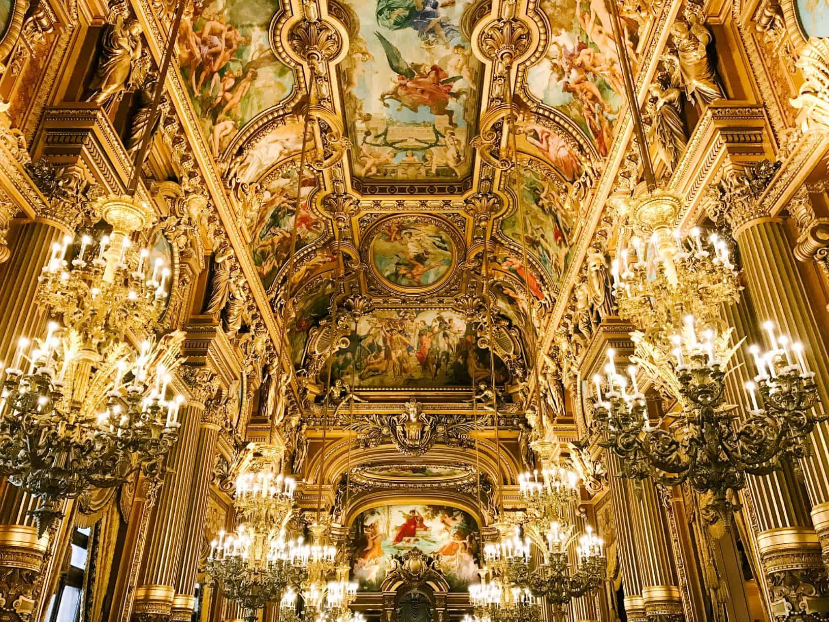Visitng the Opera House is on top paris things to do and one of the best attractions at paris