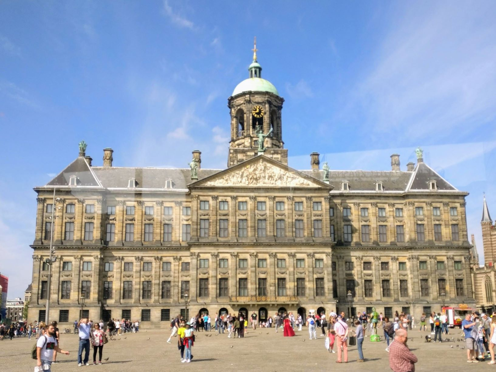 One of the main things to do in dam square is to visit the Royal Palace, things do amsterdam